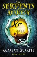 The Serpents of Arakesh by V.M. Jones First book in a quartet. Adam Equinox takes no pride in any aspect of his school work. But a bad report is the least of his woes! Abandoned on a doorstep 12 years ago, he has no idea who he is or where he belongs. But his life starts changing when he enters a competition to win a chance to work with software genius Quentin Quested.