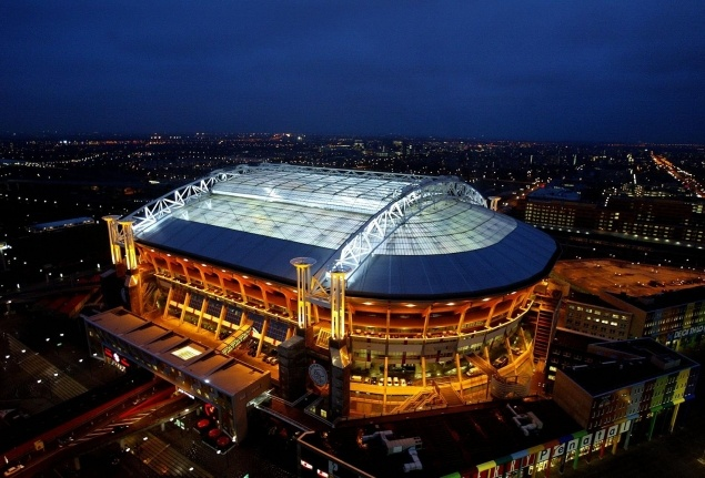 ARENA football stadium, home to AJAX, Amsterdam. #greetingsfromnl
