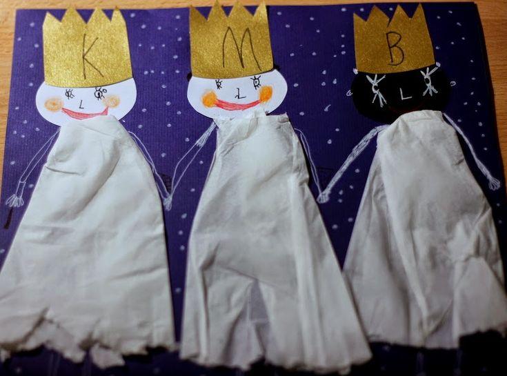 U nás na kopečku: My tři králové ...