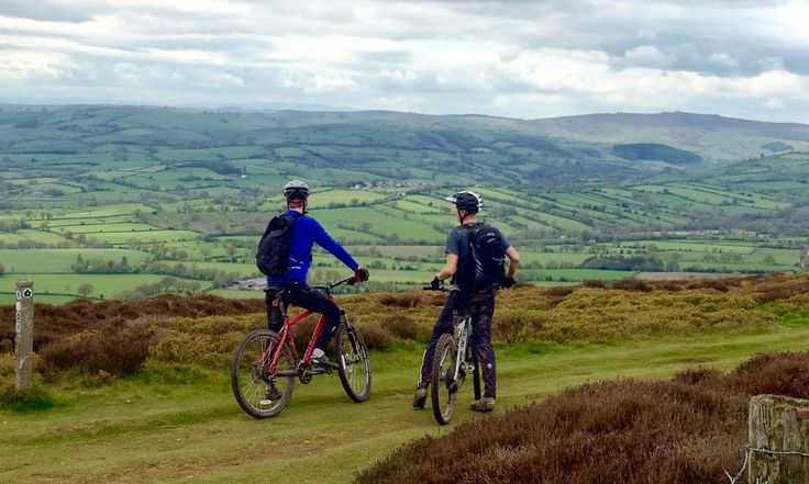 Over the Shropshire hills and far away – by mountain bike
