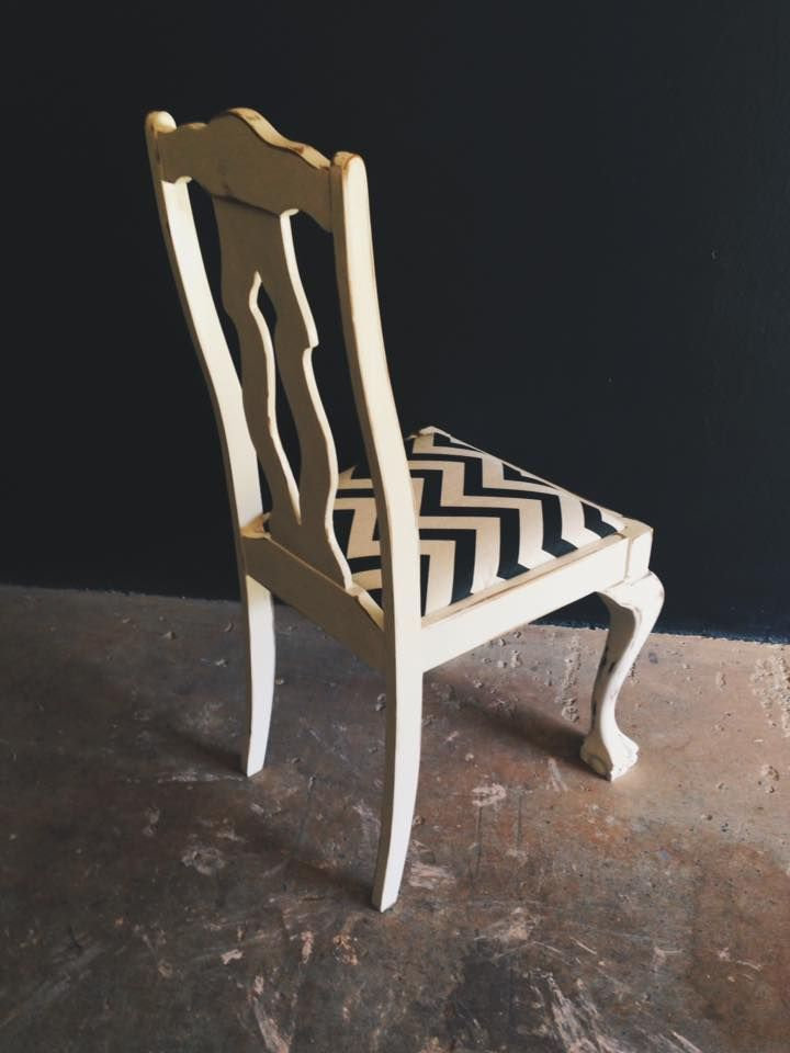 Ball and Claw Chair with a contemporary twist! The perfect dressing table chair.  R800.  Contact us for orders and enquiries: erin@freerangeboy.co.za // dave@freerangeboy.co.za  #design #furniture #homedecor #interiordesign #interiordecor #freerangeboy #interior #upcycled #upcycling #homeware #accessories #southafrica #vintage #antique