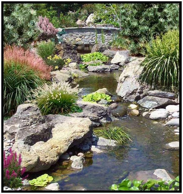17 best ideas about garden stream on pinterest backyard for Garden pond water features