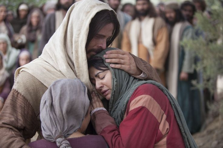36 Beautiful Pictures of Jesus Christ {I LOVE the emotion in this picture!}