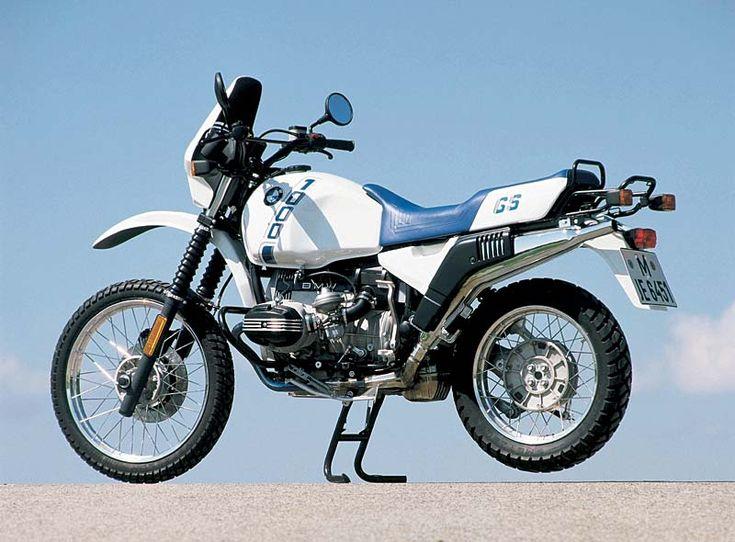 BMW R 100 GS: Erstes Motorrad mit Paralever-Hinterradaufhängung