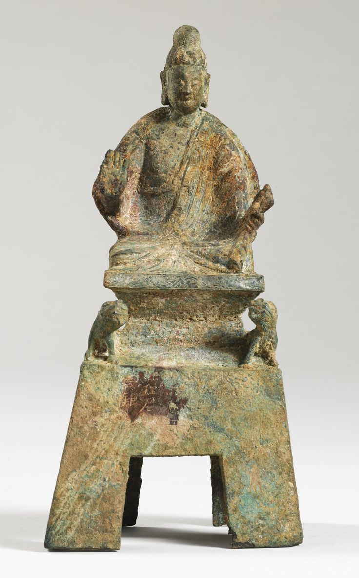 A BRONZE VOTIVE FIGURE OF BUDDHA<br>China, 22nd year of the Taihe reign (498), Northern Wei dynasty | Lot | Sotheby's