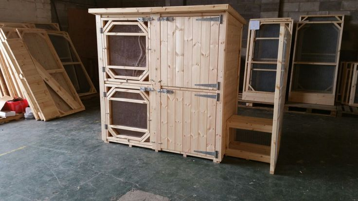 Large Double Rabbit Hutch With A Tunnel Connected For A Large Rabbit Run.  Handmade To Order By Boyles Pet Housing  #ahutchisnotenough