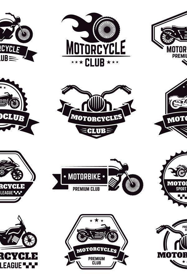 Retro Motorcycle Emblems Biker Club Motorcycle Badges Bike 973772 Logos Design Bundles In 2021 Motorcycles Logo Design Biker Logo Design Mechanic Logo Design Motorcycle club patch template photoshop
