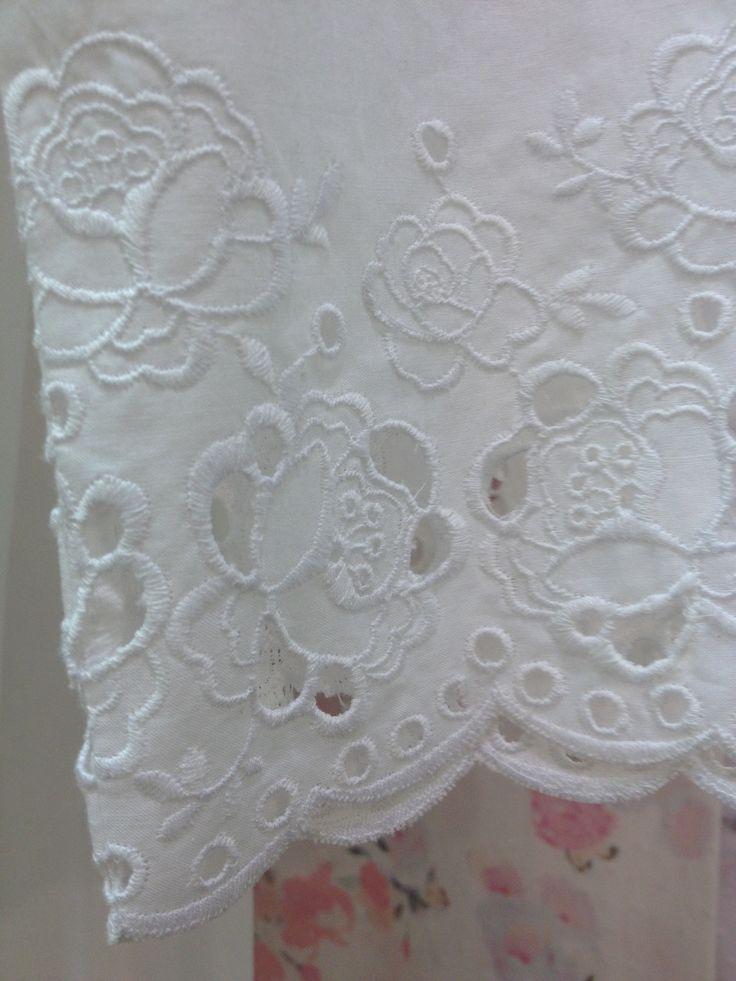 Lace trim detail, beautiful, feminine & stylish