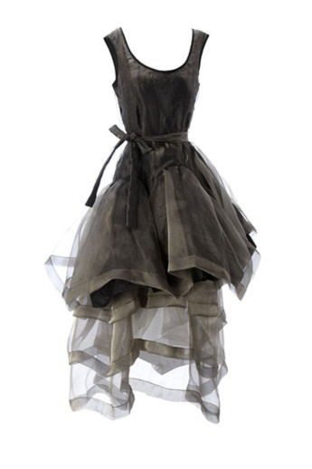 Vivienne Westwood's frock in honor of the Queen's 60 years on the throne.