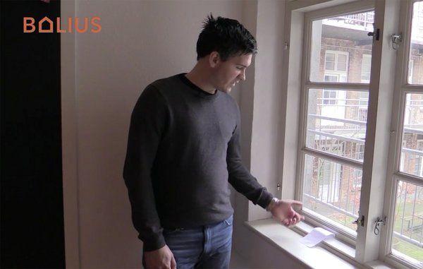 Sådan tjekker du, om dine vinduer er tætte