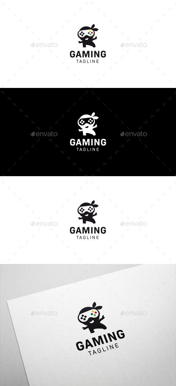 Ninja Games Logo  — EPS Template #gamepad #application • Download ➝ https://graphicriver.net/item/ninja-games-logo/18272176?ref=pxcr