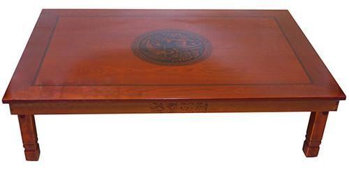 Korean Floor Table Folding Legs Rectangle 120 80cm Asian Antique Furniture Living Room Low Wooden For Dining Tea Home Pinterest