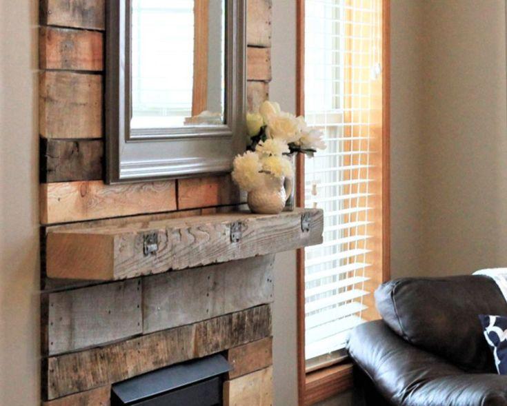 Best 25+ Reclaimed wood fireplace ideas on Pinterest ...