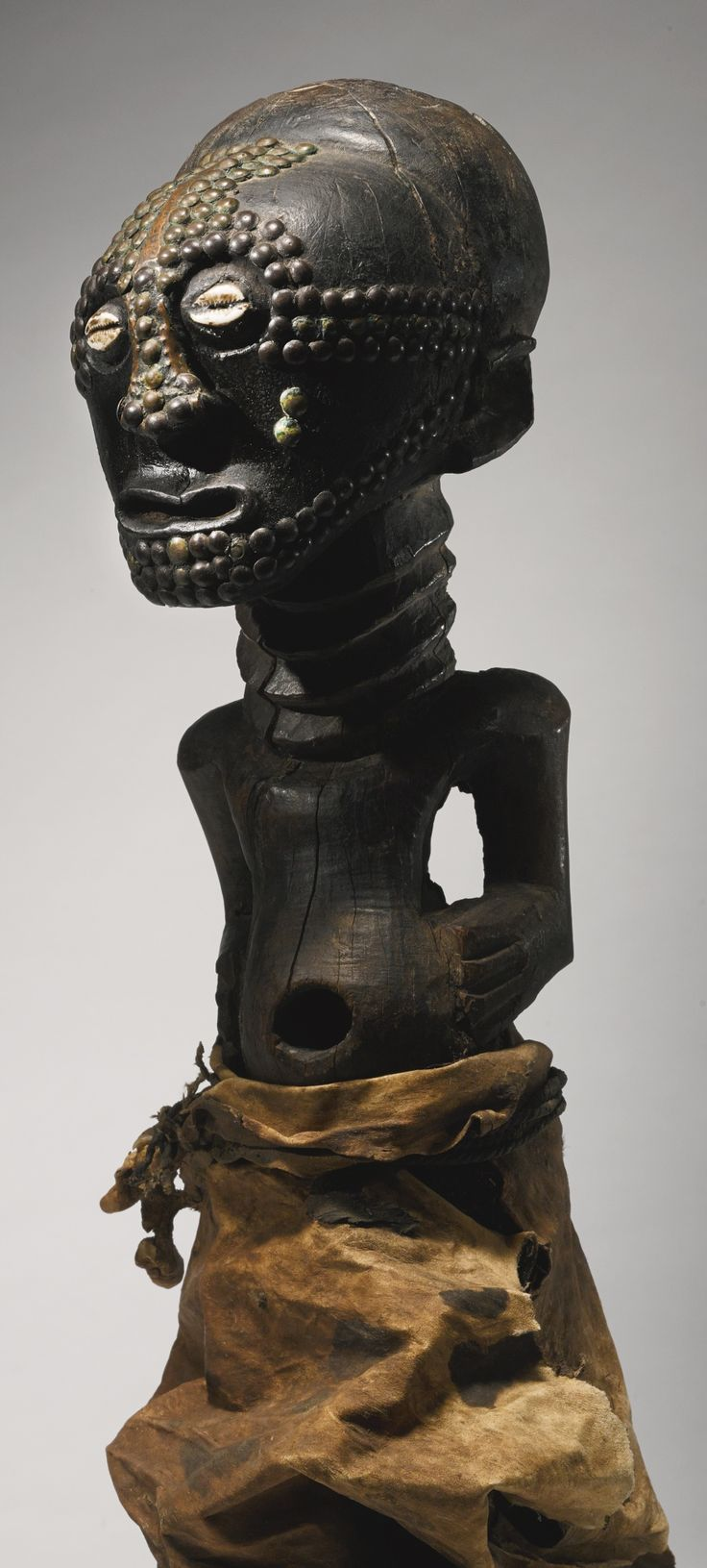 Songye Nkisi (Power Figure), DRC http://www.imodara.com/post/89574983609/dr-congo-songye-nkisi-nkishi-power-figure
