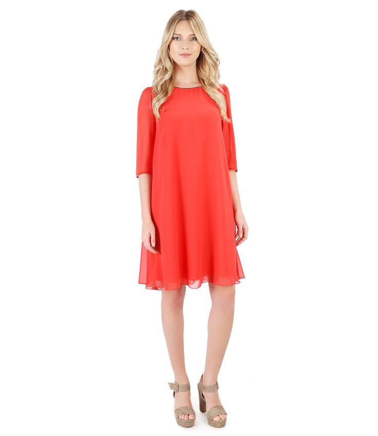 Swarovski evening dress Spring17 | YOKKO #swarovski #red #party #dress #evening #dance #spring17 #yokko