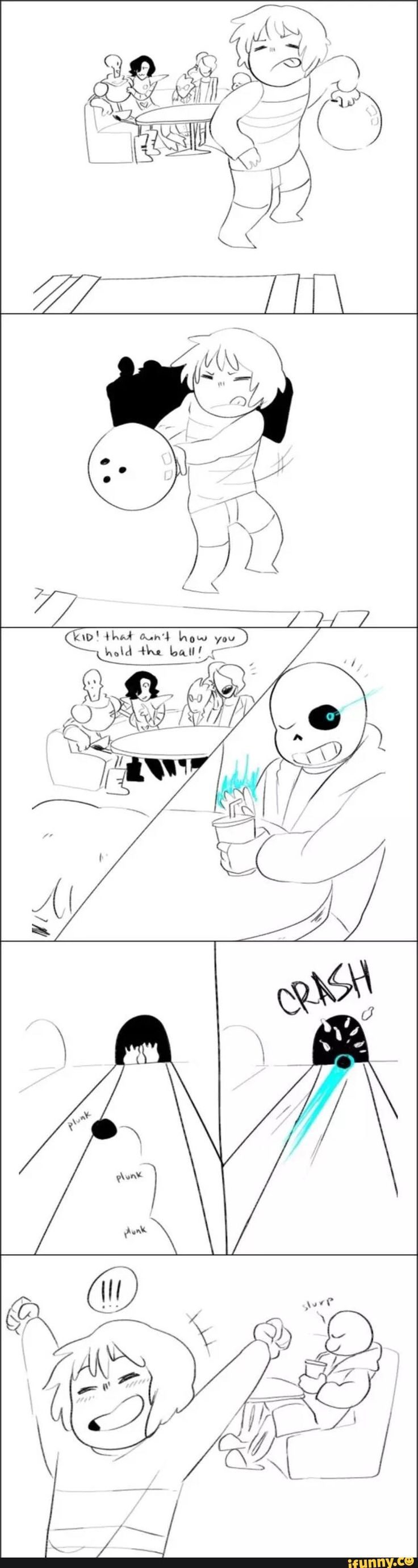 If Sans keeps doing things like these, Frisk will never feel what it is like to lose. Ever.