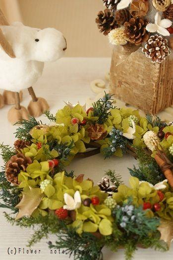NEW 手作りクリスマスツリー&リース