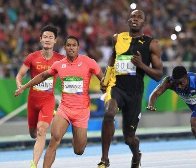 日本男子400mリレーで銀メダル アジア新37秒60でジャマイカに次ぐ2位 #リオ五輪 #陸上