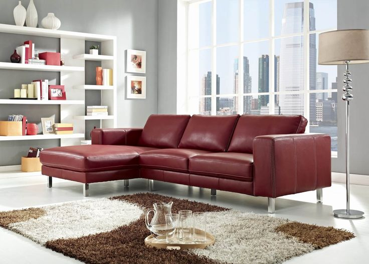 Ideas Red Sectional sofa with Chaise Photos 18 stylish modern red sectional sofas  Check more at http://deltaemulatoriosapp.com/2017/02/01/red-sectional-sofa-with-chaise/