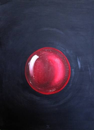 "Saatchi Art Artist Judith Elizondo; Painting, ""Mother cell"" #art"