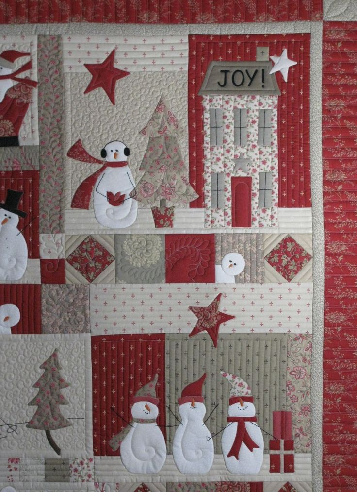 373 Best Quilts Christmas Images On Pinterest