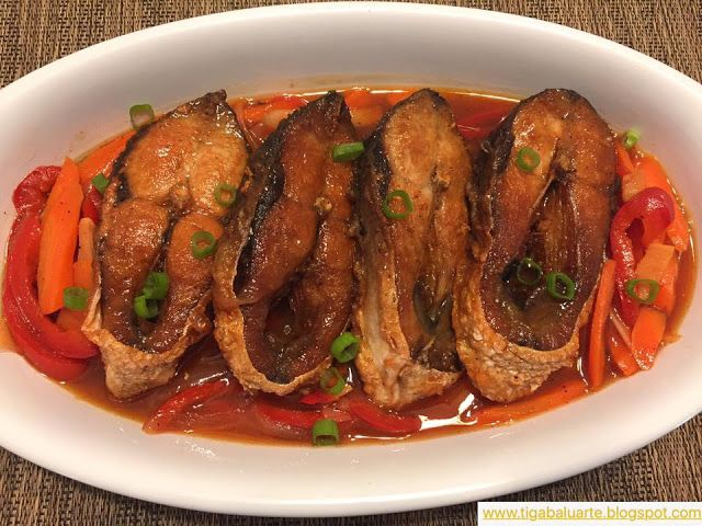 Casa Baluarte Filipino Recipes: Bangus Escabeche Recipe
