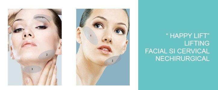 chirurgie estetica - noutati -lifting nechirurgical cu firele HAPPY LIFT! 0722532299