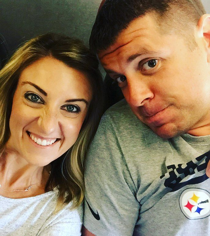 We are going home!!! All boarded up on the plane and headed to Pittsburgh!! It's been fun but I miss my babies!!!  All Matt is worried about is whether or not he can stream the Steelers game!!!
