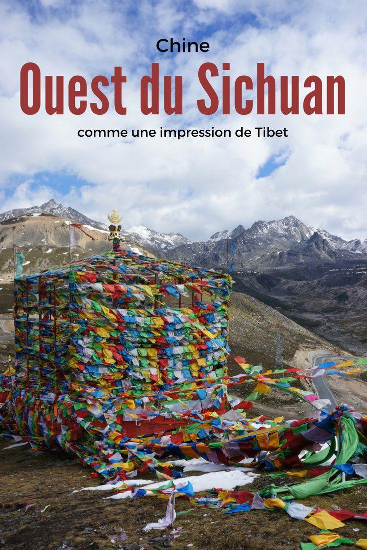 Voyage en Chine: découverte de l'incroyable région de l'ouest du Sichuan. Une province qui fait la frontière avec le Tibet. Une occasion de se sentir presque comme au Tibet mais avec quelques formalités administratives en moins. Le souffle coupé est assuré! (et pas uniquement à cause de l'altitude...) ;)
