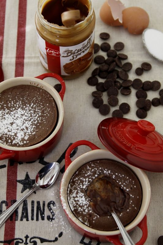 Biscoff Molten Lava Cakes Recipes — Dishmaps