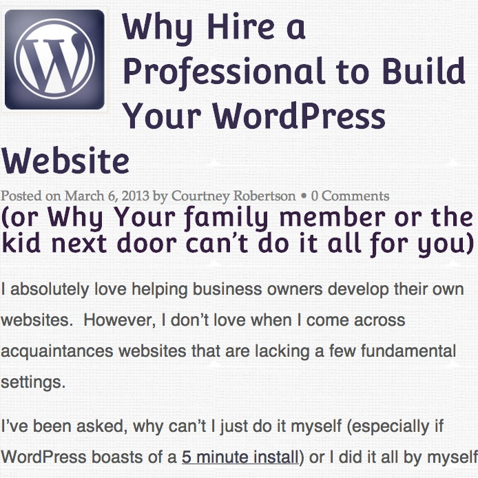 how to hire to build a website