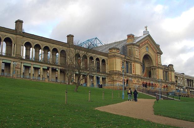 Alexandra Palace, Muswell Hill and Wood Green, North London by John Johnson (1807-78) with Alfred Meeson (1808-85)