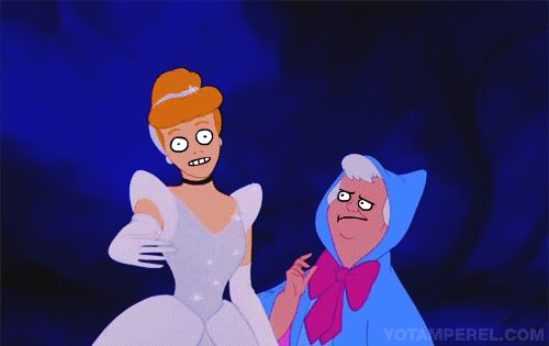 On March 19th, artist and animator Yotam Perel posted this demented Cinderella GIF: | Derpy Disney Animations That Will Make You Question Your Sanity
