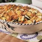 Summer Squash Casserole - I added leftover chicken and spaghetti to this to make it a complete one pot meal.  Yummy