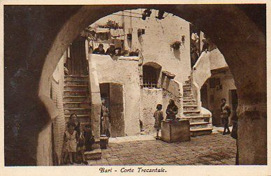 Bari - A courtyard in the old town