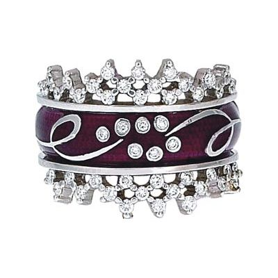 Hidalgo Stackable Rings Scrolls Collection Set (RS7786 & RS7929) - Hidalgo Jewelry