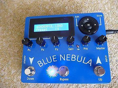 Stanley Fx Blue Nebula Vintage Tape Echo Guitar Effects