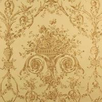 Gewebter Polster-& Vorhangstoff Villa Borghese Ucelli gold-Meterware 150cm breit | Tapeten Stoffe Gardinen im engl.,schwed. & franz. Landhausstil & von Laura Ashley