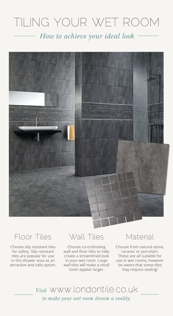 Achieve your dream wet room with our fabulous selection of tiles.