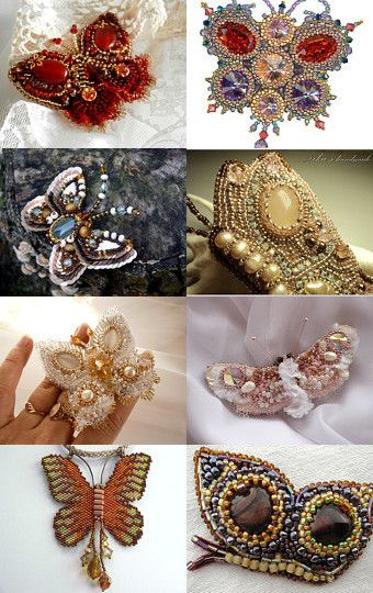 Lovely Butterflies  by Agija Rezcova on Etsy--Pinned with TreasuryPin.com