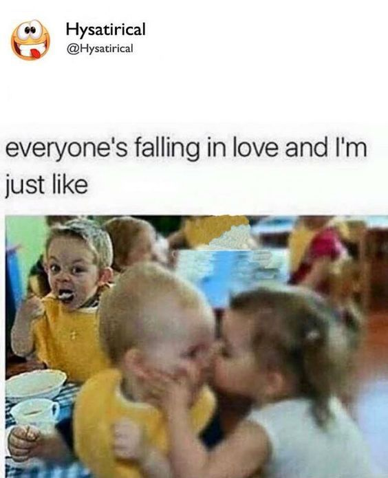 Everybody is falling in love. And I be like this, look on my face. Follow @ashersocrates #love #funny #face #follow