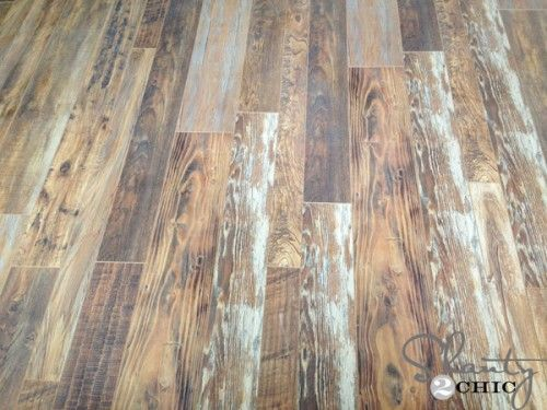 Reclaimed Looking Laminate House Update Joanne