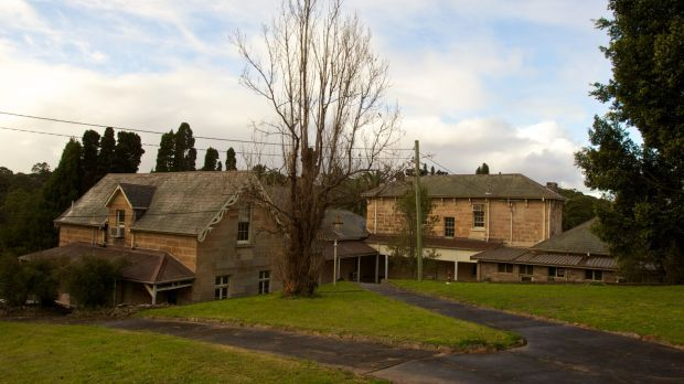 Past preserved: The Priory on Salter Street, in Gladesville. Originally a farm house, it became part of the Gladesville ...