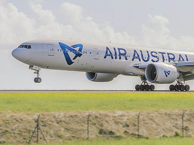 Air Austral : Boeing 777 immobilisé, trois vols reportés au départ de Paris-CDG