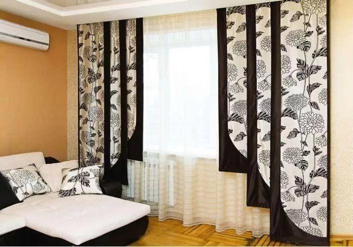 москвичка шторы в японском стиле фото полутора метров