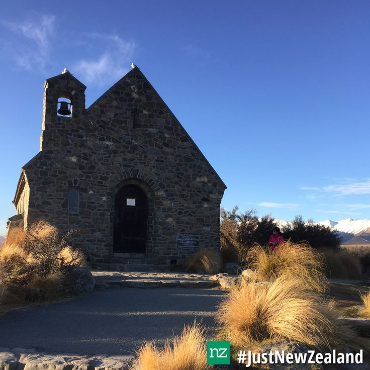 Church of the Good Shepherd #nz #laketekapo #church #scenic #mustdo #holiday #JustNewZealand