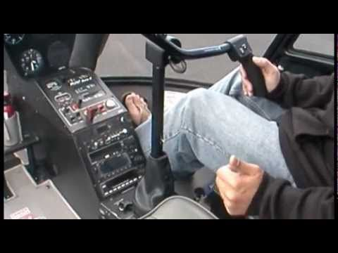 Introduction video to Helicopter Flight Controls, demonstrated in a Robinson R22 Helicopter, covering collective, cyclic, and anti-torque pedals.
