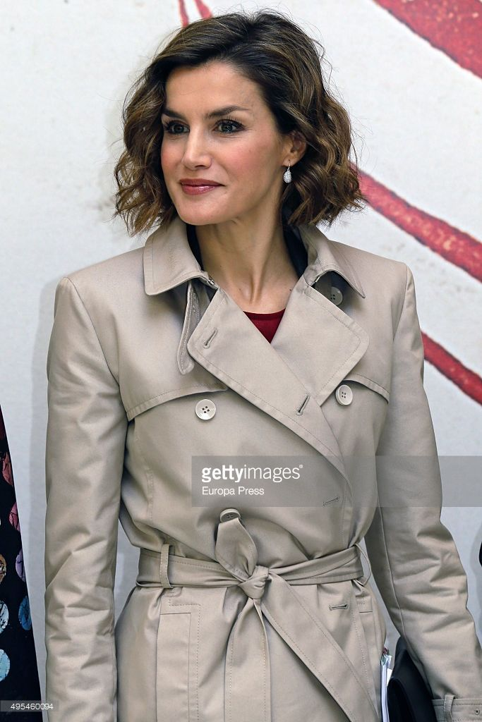 Queen Letizia of Spain attends 'Cooperacion Espanola 2030. Espana y la nueva agenda de desarrollo sostenible' seminar on November 3, 2015 in Madrid, Spain.