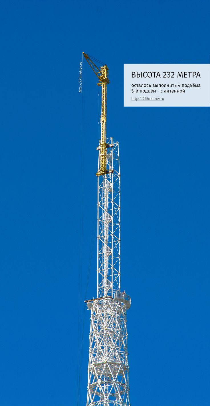 Завершение строительство телебашни Пермь