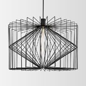 Wever-Ducre Lighting WIRO  WD2094E0B0 Black structured